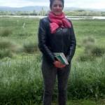 Anne Duquenoy (Editora Guía Michelin) en Salburua