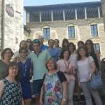 Profesores del Colegio Miguel de Cervantes en Vitoria-Gasteiz