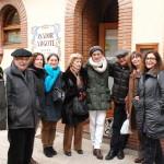 Luis Irizar y familia en Vitoria-Gasteiz