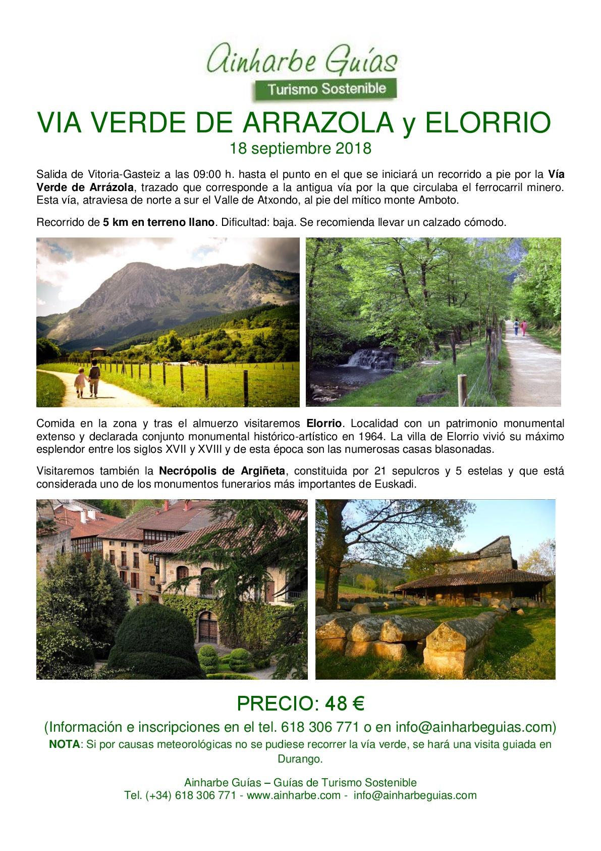 excursion VV ARRAZOLA y ELORRIO